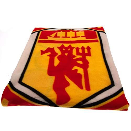 (Manchester United F.c. Fleece Blanket Pl )