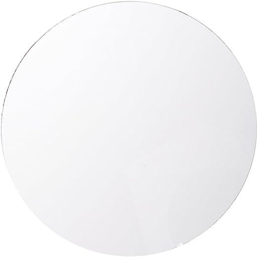 Darice Round Glass Mirror 5 Inches