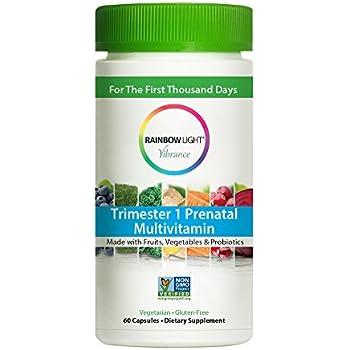 Amazon Com Rainbow Light Vibrance Trimester 1 Prenatal