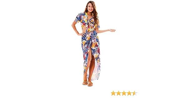 Fyasa Disfraz de chica hawaiana grande, (701846-T04): Amazon.es ...