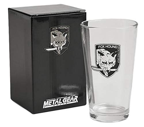 Metal Gear Solid Pint Glass