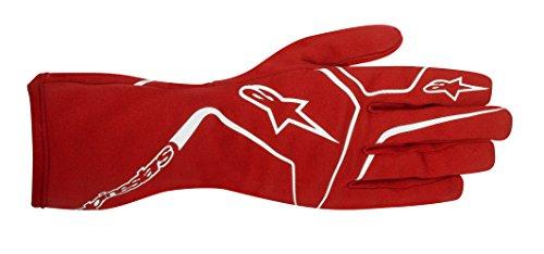Alpinestars 3552017-30-XL Tech 1-K Race Gloves, Red, Size XL
