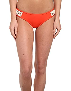 Women's Natural Connection Tab Side Hipster Bikini Bottom