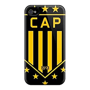 Special Design Back Penarol Phone Cases Covers For Case Iphone 4/4S Cover
