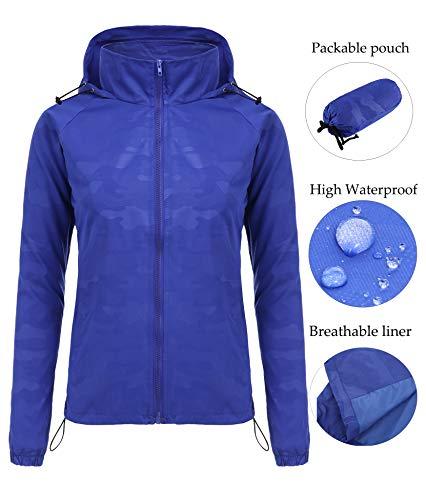 FISOUL Women's Lightweight Jacket Packable