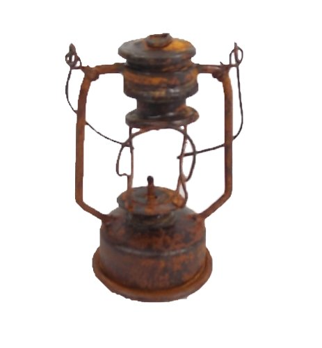 Craft Outlet Rustic Decorative Oil Lamp, 3-Inch, Set of 4 by Craft Outlet Inc
