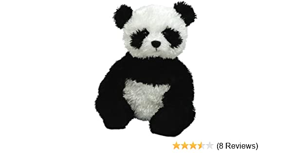 a038013fab2 Amazon.com  Ty Beanie Babies - 6 Inch Black and White Panda - Wonton  Toy    Toys   Games