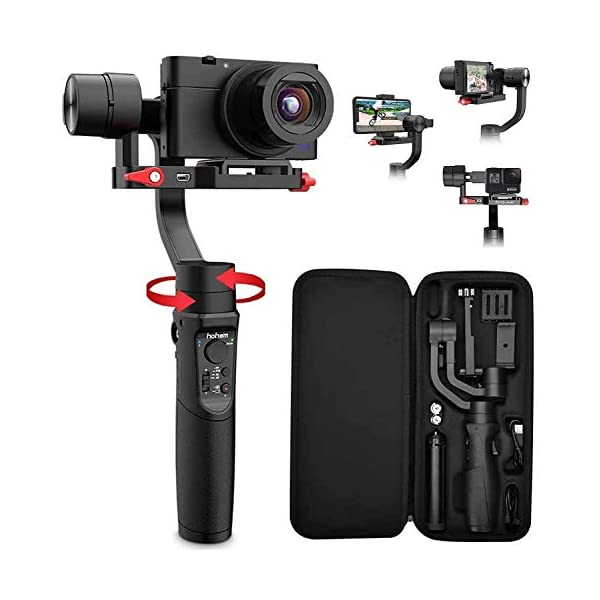 RetinaPix Hohem iSteady Multi All in 1 3-Axis Handheld Gimbal Stabilizer