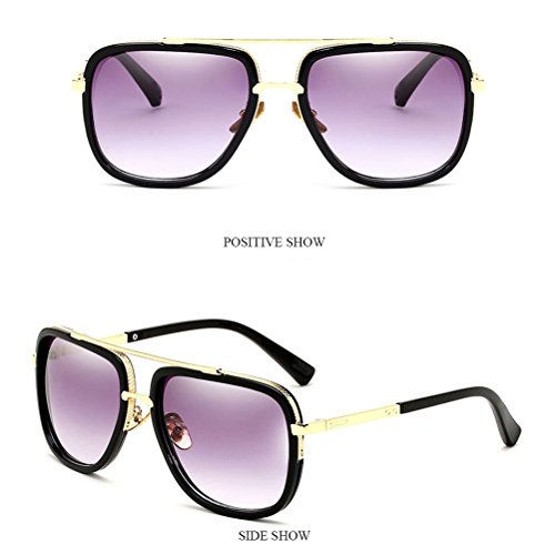 Chaîne Zhhlinyuan Solaire Protection Lunettes Lunettes with Boys Sunglasses Des Lunettes de Black lunettes avec Mens Sécurité Jambes Titulaire de Chain Métal Hommes Soleil rqxfrwvF
