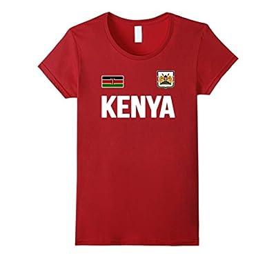 Kenya T-shirt Kenyan Soccer Jersey Style