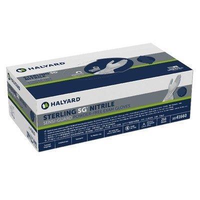 Halyard Sterling SG Nitrile PF Glove - S (250)