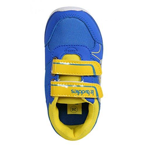 Sportschuhe für Junge und Mädchen DISNEY DE000762-B2124 CBLUE-YELLOW