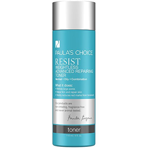 Price comparison product image Paula's Choice--RESIST Weightless Advanced Repairing Toner--for Oily Skin Combination Skin--Fight Signs of Aging--Pore Refining - 4 oz