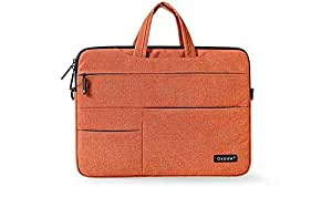 Laptop Sleeve Cover Case Carry Shoulder Messager Bag Pouch Storage For MacBook Air 13 inch 13.3inch Orange