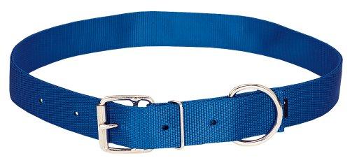 Nickel Blue Nylon Collar - Weaver Leather Livestock Nylon Neck Strap
