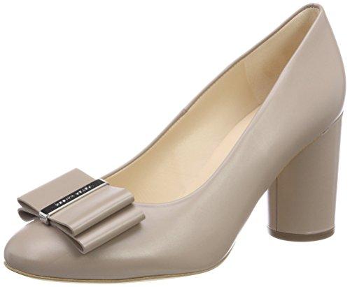 Bello Kaiser taupe Punta Osilia Para Con Cerrada Zapatos Beige Tacón 780 Mujer Peter De Zx67q1Pw6