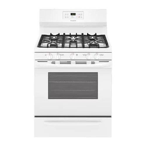 Frigidaire 5.0 Cu. Ft. Self-Cleaning Freestanding Gas Range Black FFGF3054TB