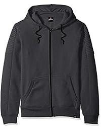 Southpole Mens Fleece Zip Sweater Hooded Sweatshirt