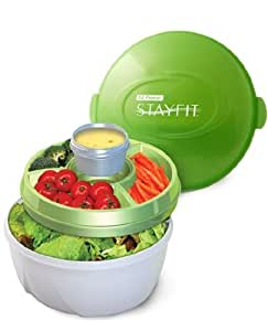 Stay Fit Deluxe Salad Kit, EZ Freeze
