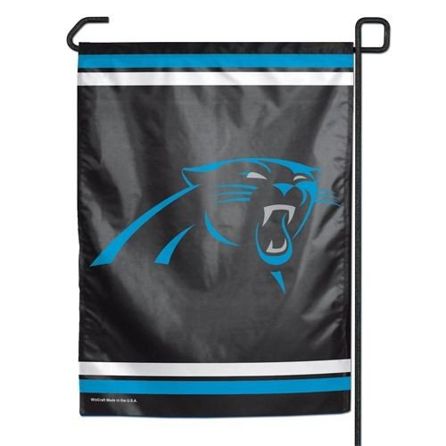 Wincraft NFL Carolina Panthers Garden Flag, 12.5 Inches by 18 Inches, Team Colors]()