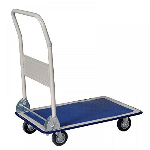 New Platform Cart Dolly Folding Foldable Moving Warehouse Push Hand Truck by BestOffice (Image #1)