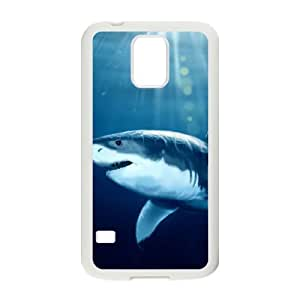 HEALTH Deep Sea Shark Phone Case For Samsung Galaxy S5 i9600 [Pattern-1]