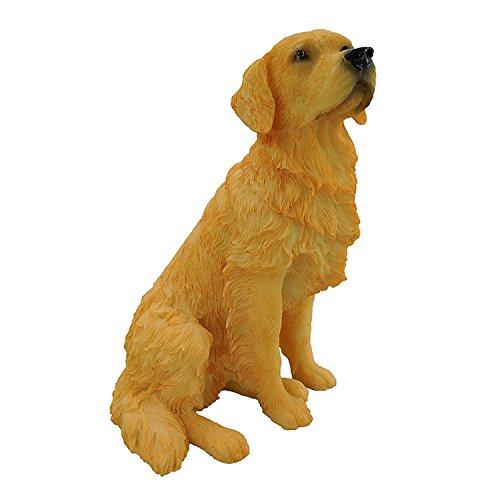 Artgenius Resin Golden Retriever Figurine 7 (Golden Retriever Dog Figurine)