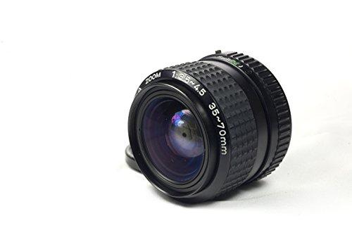 - Pentax-A SMC 35-70mm f/3.5-4.5 Manual Focus PK-Mount Lens