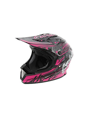 Cyclone ATV MX Dirt Bike Off-Road Helmet DOT/ECE Approved - Pink - Large - Motocross Gear Closeouts