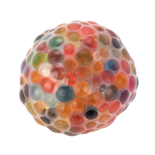 Drfoytg 2018 Hot,Squishy Toys Fun Stress Reliever Toy Rainbow Ball Decompression Slow Rising Squeeze Cream Scented Office ()