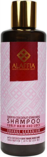 Alaffia - Coconut and Shea Hydrating Shampoo, Moisturizing Support for Smooth, Shiny Healthy Looking Hair with Shea Butter, Coconut Oil, and Lemongrass, Fair Trade, Lavender Coconut 8 Ounces (Lemongrass Moisturizing Shampoo)