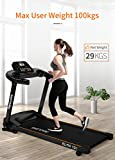 Endless TM-101 Blend (2.0 HP Peak) Motorized Treadmill-Max Speed 12KM/HR (Black)