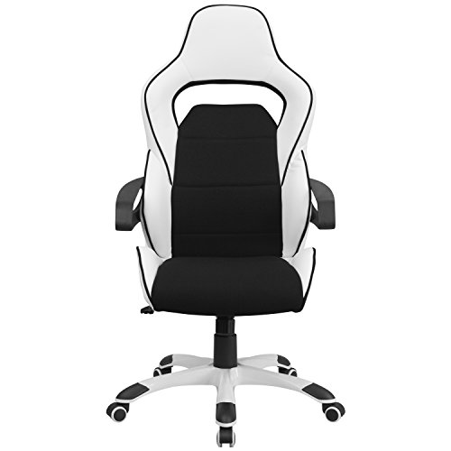 Flash-Furniture-High-Back-Vinyl-Executive-Swivel-Office-Chair-with-Black-Fabric-Inserts