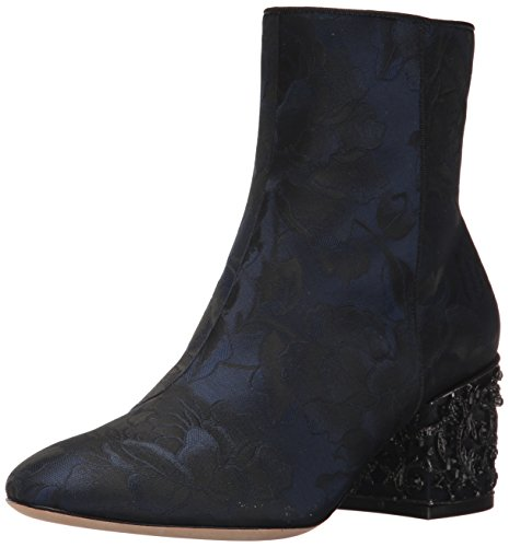 Badgley Mischka Women's Martha Ankle Boot, Midnight Brocade, 7.5 M US by Badgley Mischka
