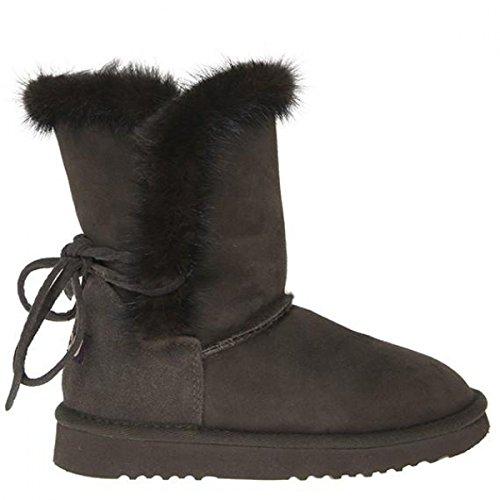 Mou Stivale Minky Boot Back Lace Visone (IT Donna 39)