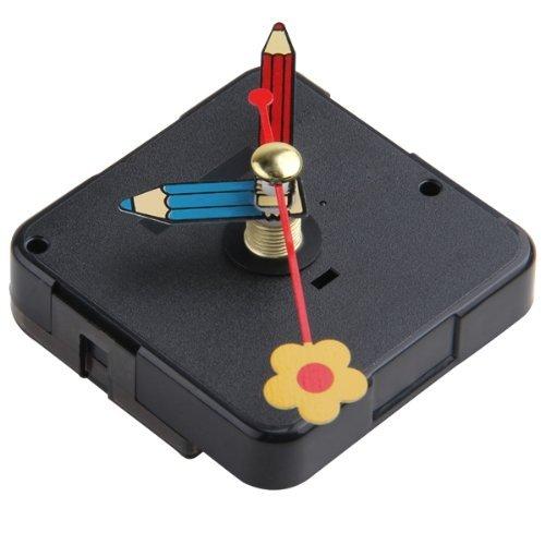 Nuts CLOS Mecanismo Reloj Cuarzo Horario Minutero Segundero Flor DIY - - Amazon.com