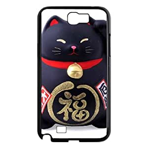 Samsung Galaxy N2 7100 Cell Phone Case Black Lucky Cat 006 MWN3903156