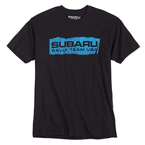 Subaru Rally Team - Subaru Rally TEAM USA SPRAY Tee Shirt Impreza Sti T shirt Official Genuine WRX NEW Racing (LARGE)