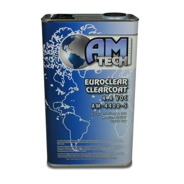 Amtech AM-4400-5 4.4 VOC EuroClear Advanced European Technology Clearcoat Kit/W Activator (AM-4475 Medium)