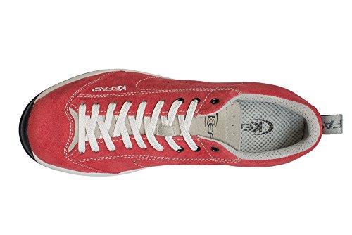 Colori Rosso Vari Vibram Scamosciata Suola Sneaker Kefas Globelite xqPCT8