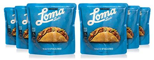 Loma Linda Blue - Vegan Meal Solution - Taco Filling (10 oz.) (Pack of 6) - Non-GMO, Gluten Free (Taco Filling)
