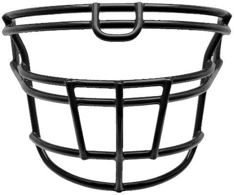 Schutt DNA RJOP UB DW YF Youth Faceguard (Black, (Dna Recruit Youth Football Helmet)