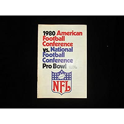 1980 Afc vs  Nfc Pro Bowl Official Facts And Figures Guide