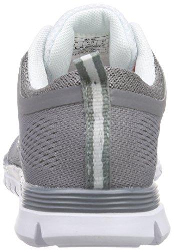 L.A. Gear Malibu - Zapatillas Mujer Gris - Grau (DK Grey 08)