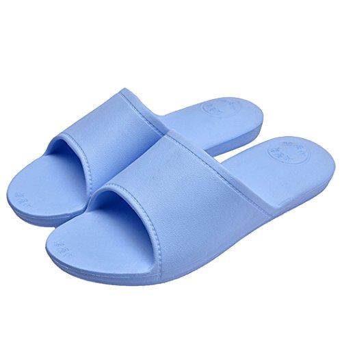 Zapatillas De Baño, outgeek 1 Par Zapatillas De Baño Inicio Zapatillas De BañO EVA Ligero Antideslizante para Adultos Sky Blue
