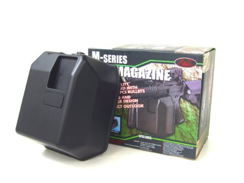 - MetalTac M-Series Airsoft Gun Box Magazine 5000 Round High Capacity Manual Winding