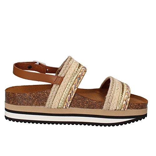 5 PRO JECT Mujer zapatos con correa Beige/Oro
