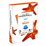 Hammermill Paper, Inkjet Multipurpose Paper, 8.5 x 11 Paper, Letter Size, 20lb Paper, 96 Bright, 1 Ream / 500 Sheets (105050R) Acid Free Paper