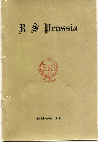 R S Prussia: Handbook of R S Prussia, R S Germany and Oscar Schlegelmilch (Porcelain Marks) (First Edition) Germany Porcelain Mark