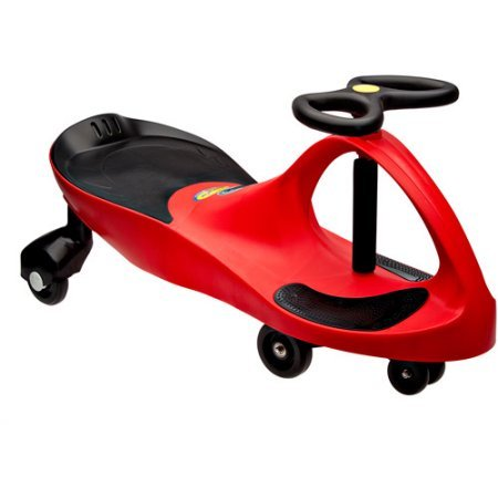 "PlasmaCar Ride-On, Red, 31.5""W x 16""H x 13.3""D"